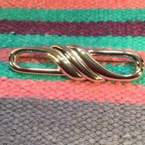 Silver colored MONET Brooch/Pin